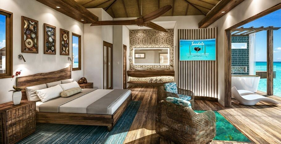 Sandals Doubles Down On Overwater Bungalows