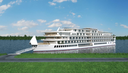 American Cruise Lines Names New Modern Riverboat