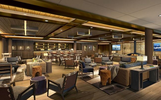 Seabourn Venture Expedition Lounge