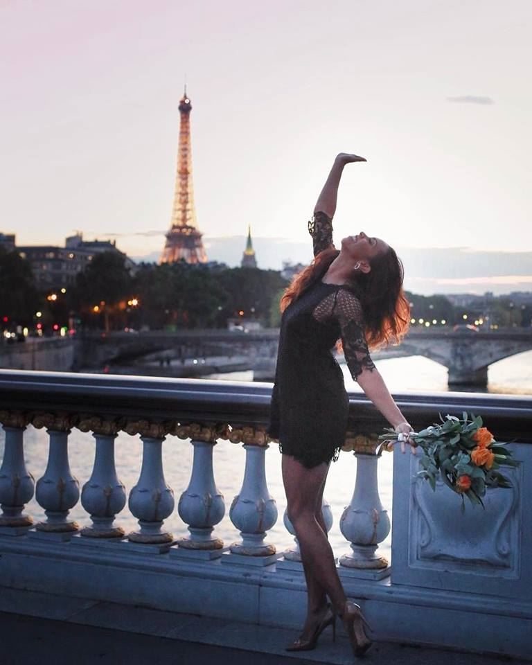 Brianna Glenn in Paris
