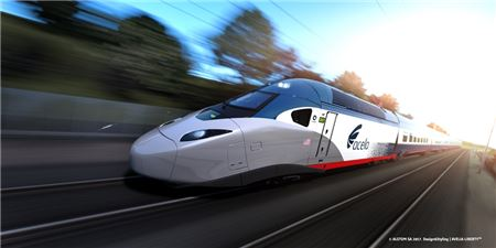 Amtrak Begins High-Speed Testing for New Acela Trainset