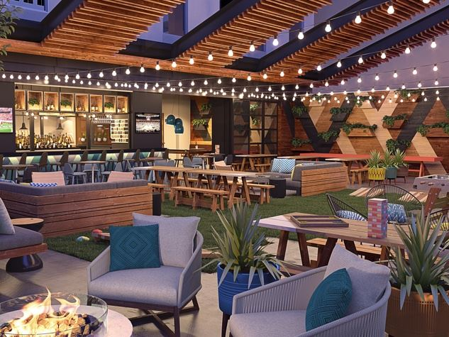 Dual-branded Aloft and Element hotel in Austin