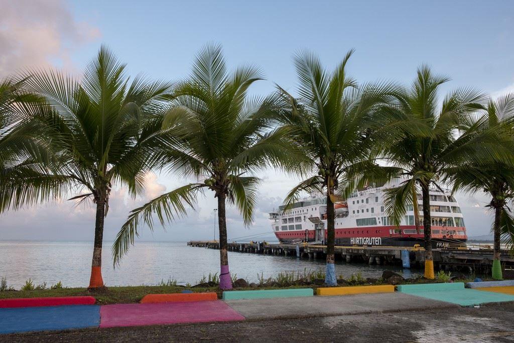 MS Fram Puerto Limon Costa Rica Hurtigruten