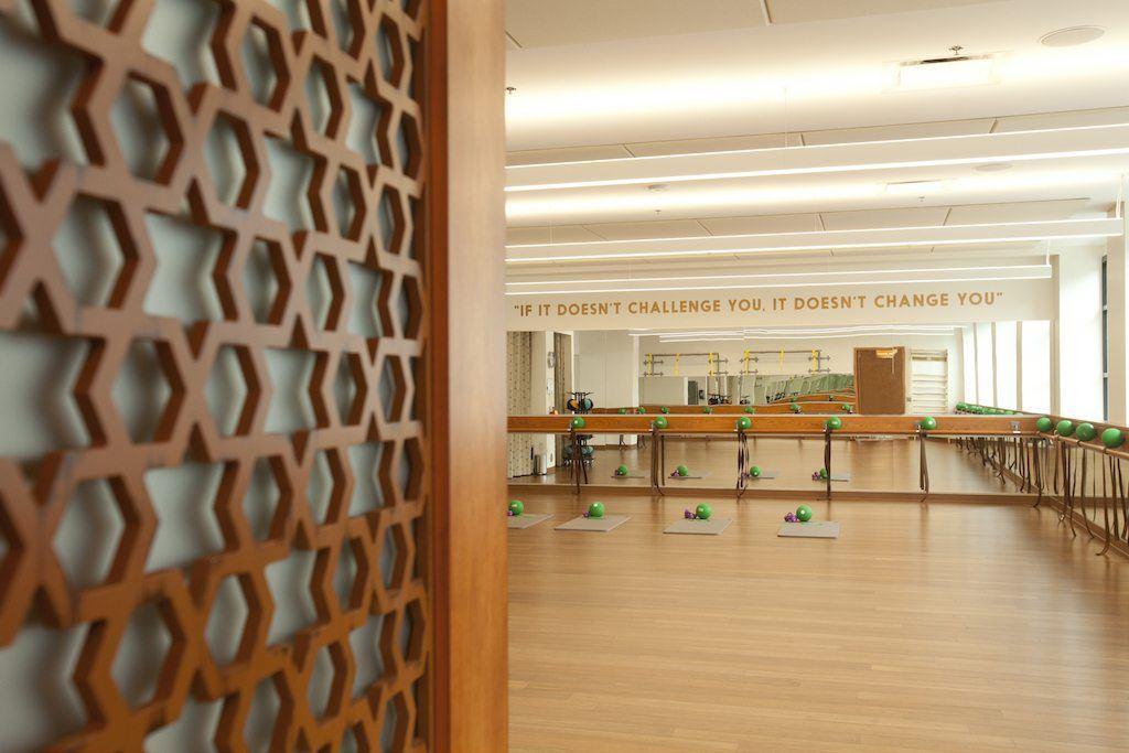 Exhale's fitness studio.Photo: Hyatt Hotels