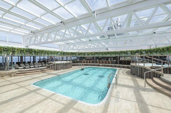MSC Seaview luxury cruise ship