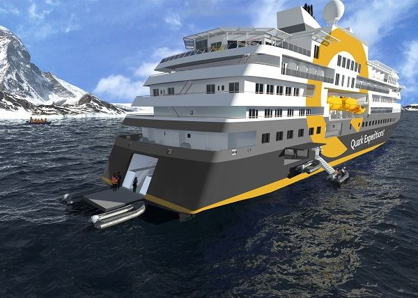 Quark Expeditions Ultramarine New Expedition Ship