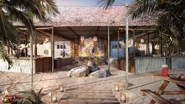 Virgin Voyages Luxury Cruise Beach Club