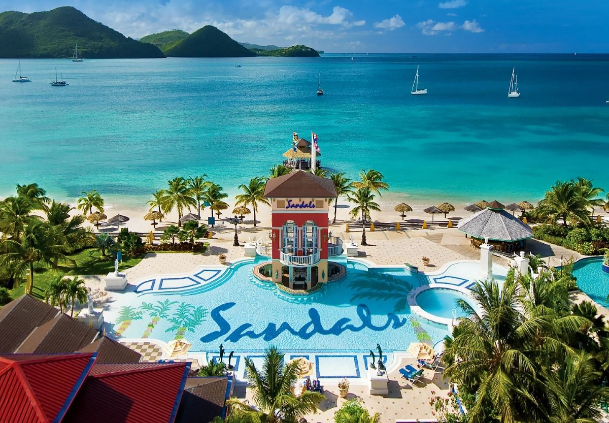 Sandals Grande St Lucian Opens Overwater Bungalows And Wedding Chapel