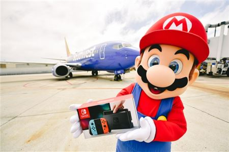 Southwest Airlines Partners with Nintendo for 'Summer of Surprises'