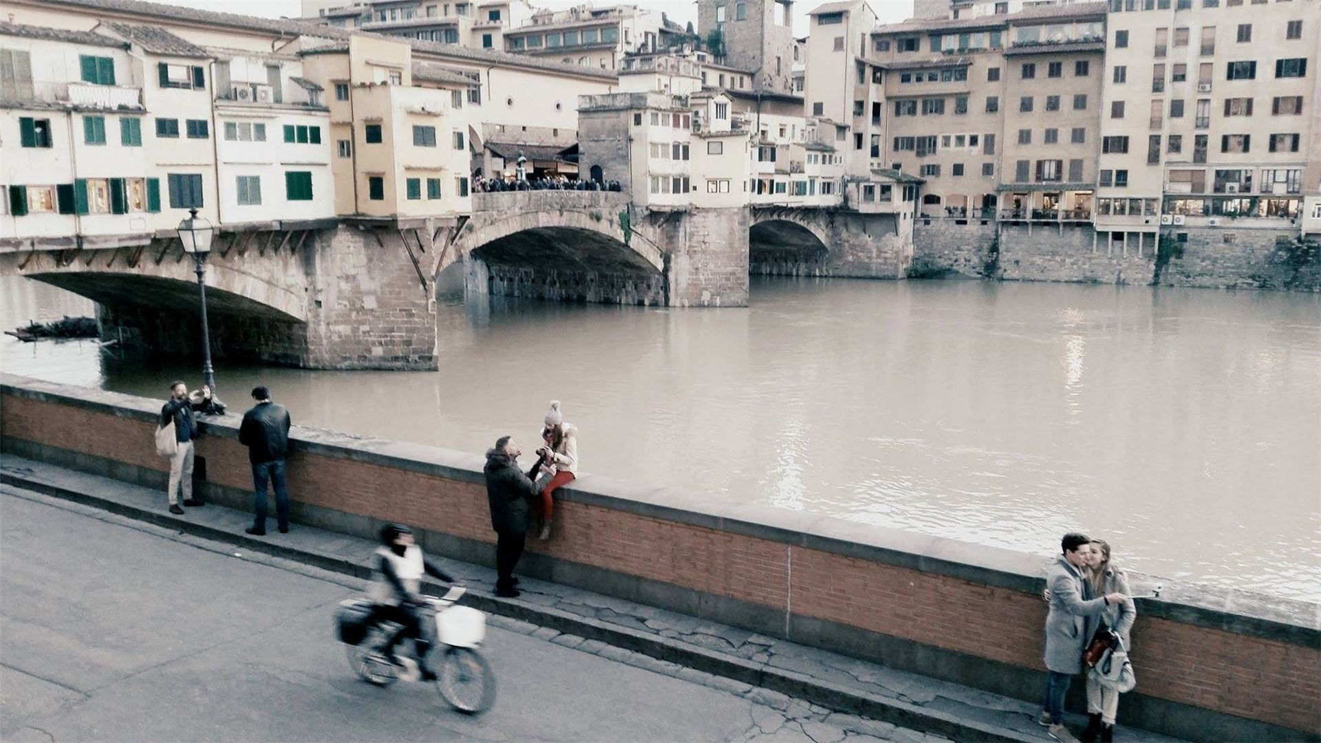 The Po River in Florence Photo: Lila Ermel Fox