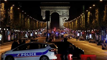 Champs Élysées Reopens After Shooting
