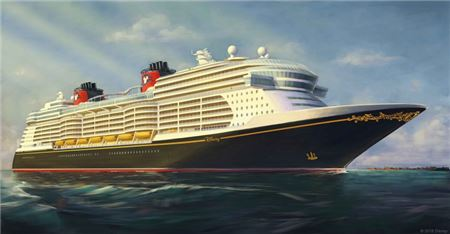 Disney Cruise Line Releases First Image of New Ships