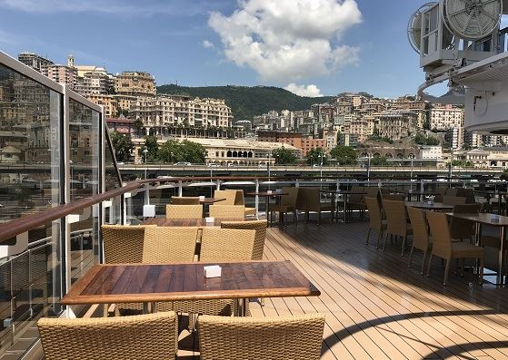 MSC Seaview Italy luxury cruise ship