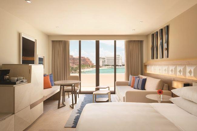 Hyatt Ziva Cancun work and learn from home COVID-19 resort