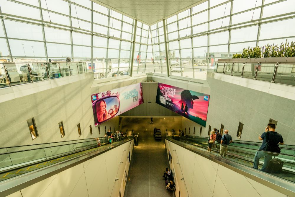 Shortest airport wait times Boston Logan