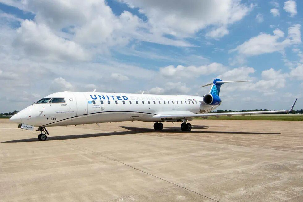 United Launches New CRJ-550 Regional Jet