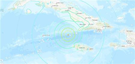 7.7 Magnitude Earthquake Strikes Caribbean Sea