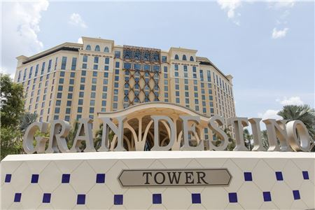 First Look: Spain and Dali Inspire Disney World's Gran Destino Tower
