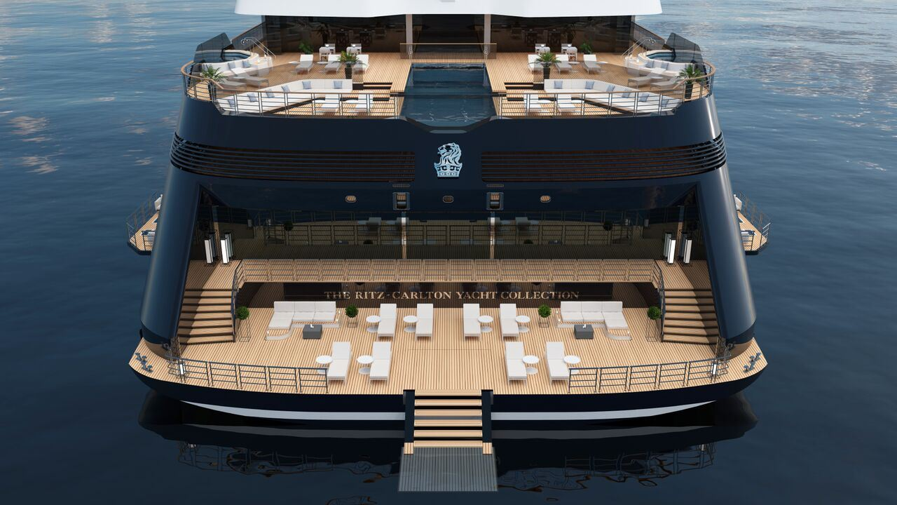 Ritz-Carlton Yacht Collection lower deck