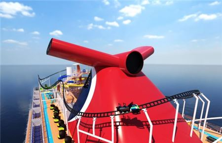 Carnival to Debut First Cruise Ship Roller Coaster