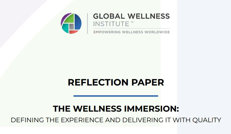 Reflection Paper: The Wellness Immersion