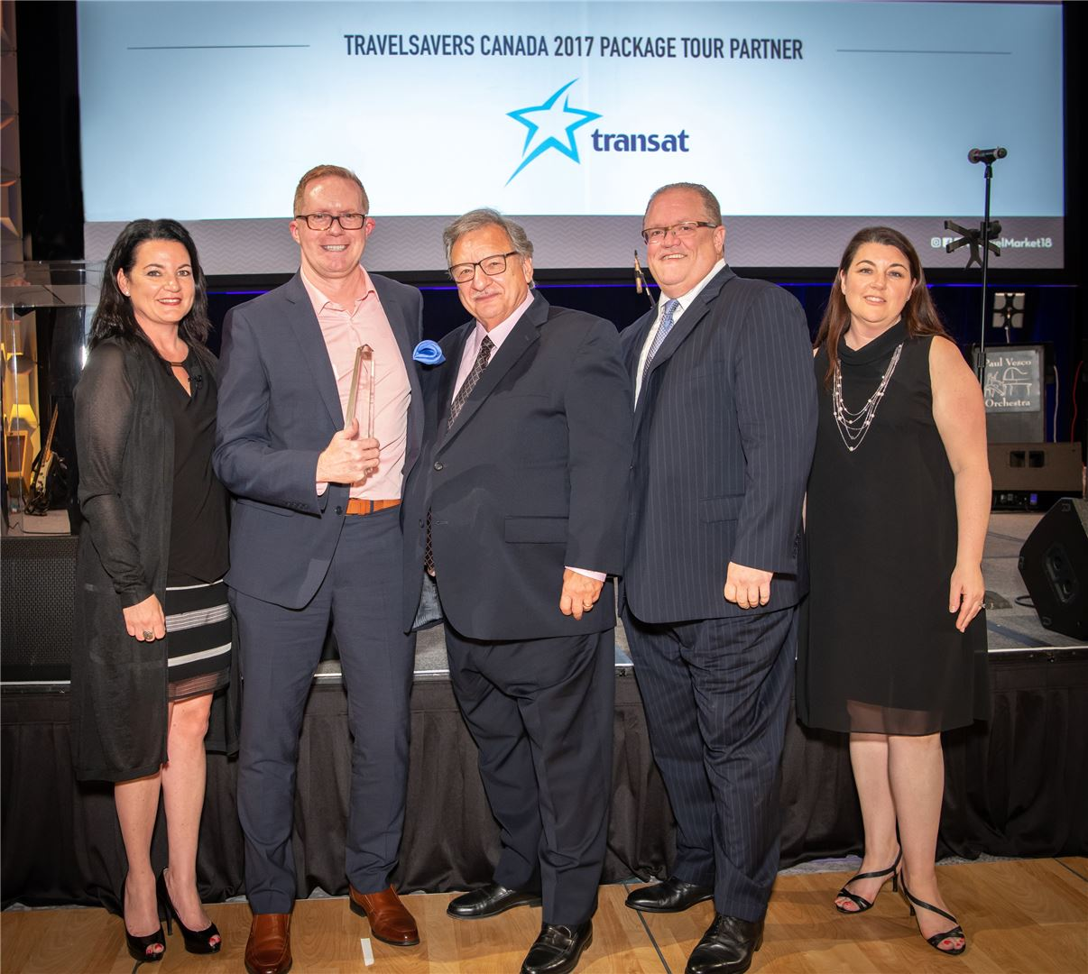 TRAVELSAVERS and NEST leadership presented awards to top agents at this year's annual conference.