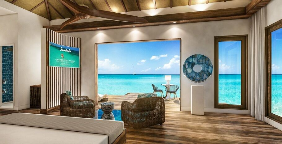 3458816ad07 Sandals Doubles Down On Overwater Bungalows