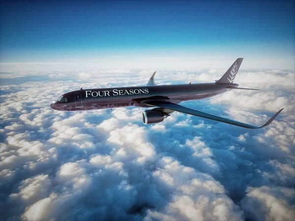 Luxury Private Jet Journey Four Seasons