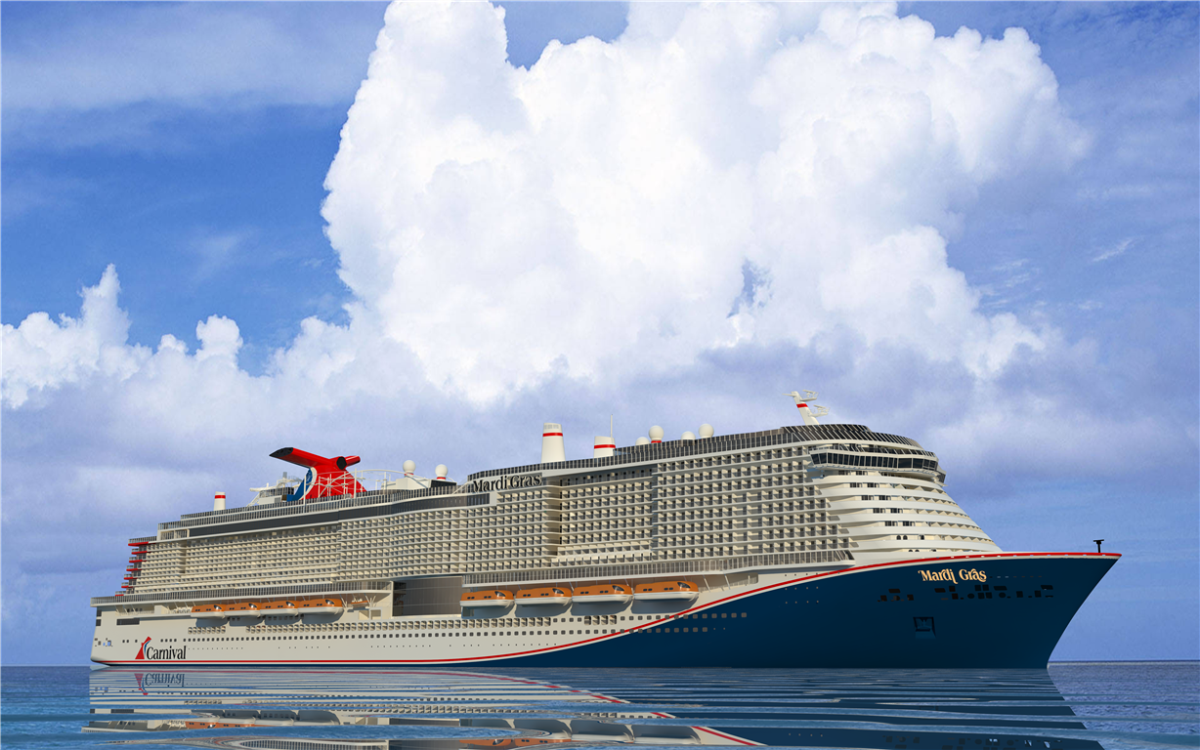 Carnival Cruise Line S Newest Ship Will Be Named Mardi Gras