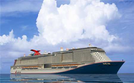 Carnival Cruise Line's Newest Ship Will Be Named Mardi Gras