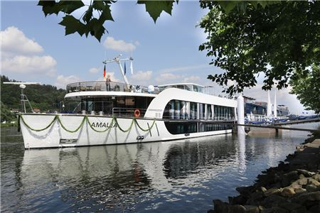 AmaWaterways Christens Newest Ship in Germany