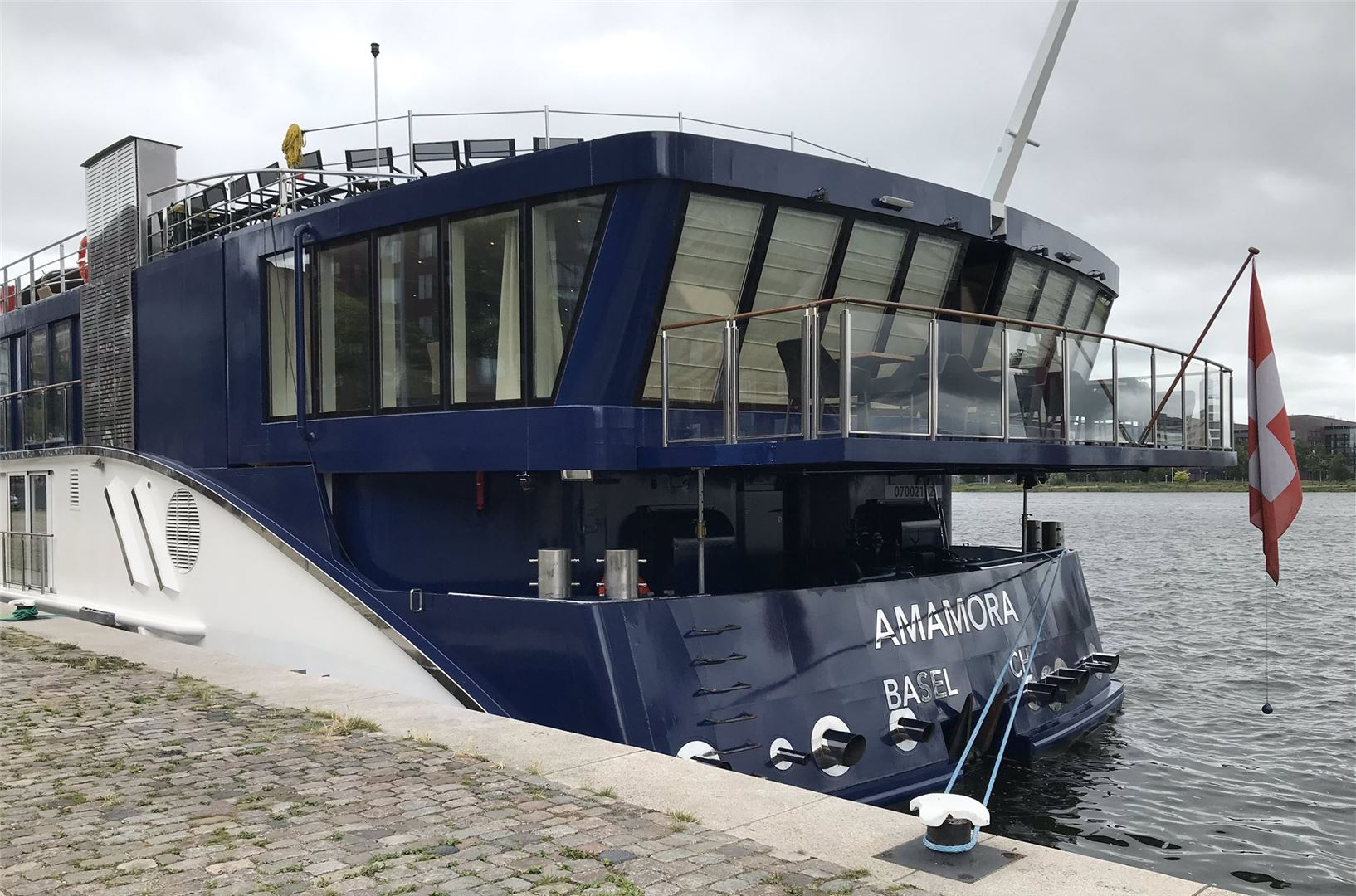 AmaWaterways Welcomes AmaMora Into Fleet