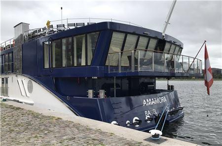 AmaWaterways Welcomes AmaMora Into Fleet