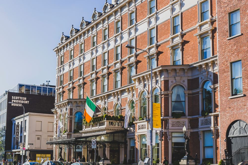 The Shelbourne Dublin Haunted Hotels Spooky Halloween.