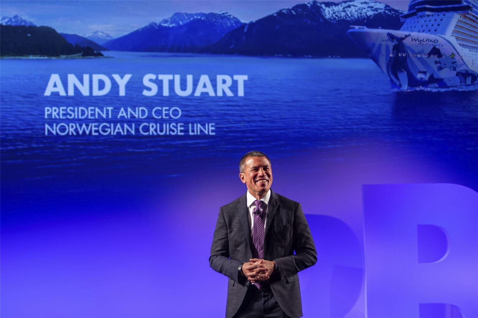 Former Norwegian Cruise Line President Andy Stuart Joins Global Ports Holding
