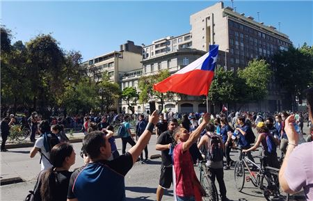 Canadian Government Issues Travel Warning Amid Chilean Protests