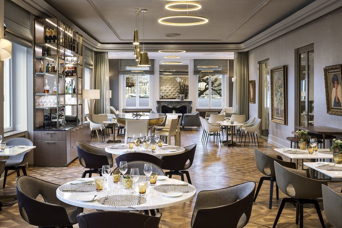 Switzerland's Historic Hotel de la Paix Reopens Under Ritz-Carlton Brand