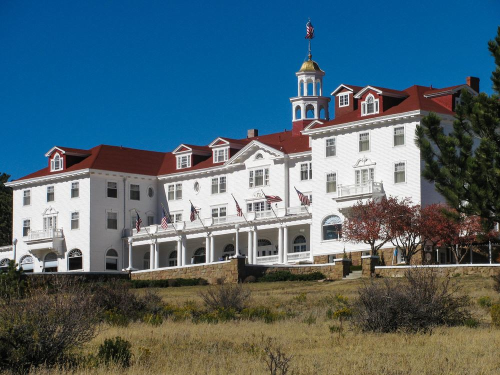 The Stanley Hotel Colorado Spooky Scary Hotels Halloween.