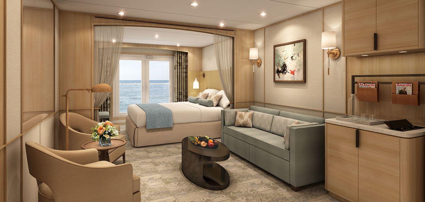 Windstar Star Balcony Suite