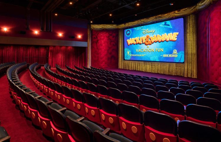 Micky Shorts Theater Walt Disney World