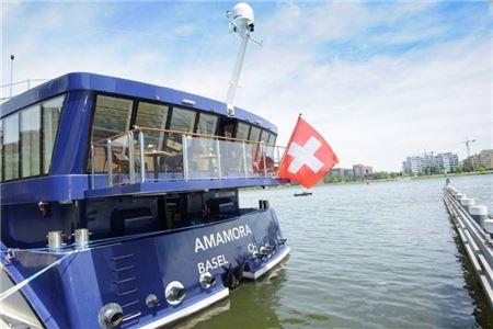 AmaWaterways' Newest Ship AmaMora Debuts on Rhine