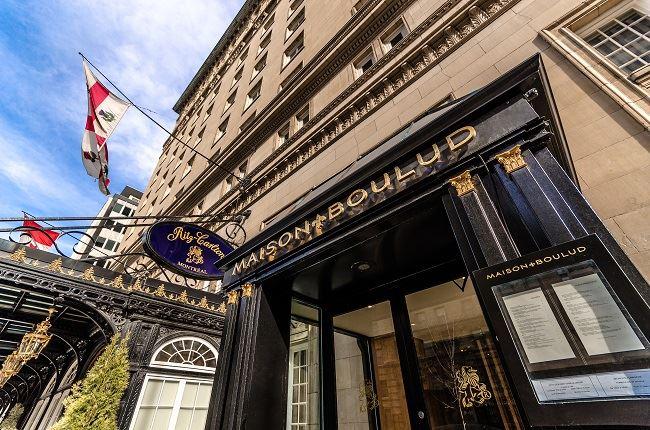 Montreal Ritz Carlton Luxury Hotel