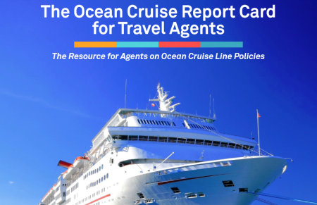 TMR's Second Ocean Cruise Report Card for Travel Agents Released