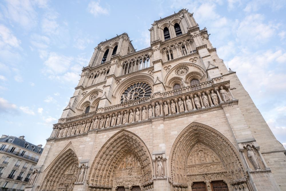 Notre Dame's Structure, Bell Tower Safe After Fire Erupts at Iconic Parisian Cathedral