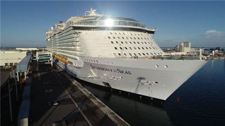 Royal Caribbean's Symphony of the Seas Makes U.S. Debut