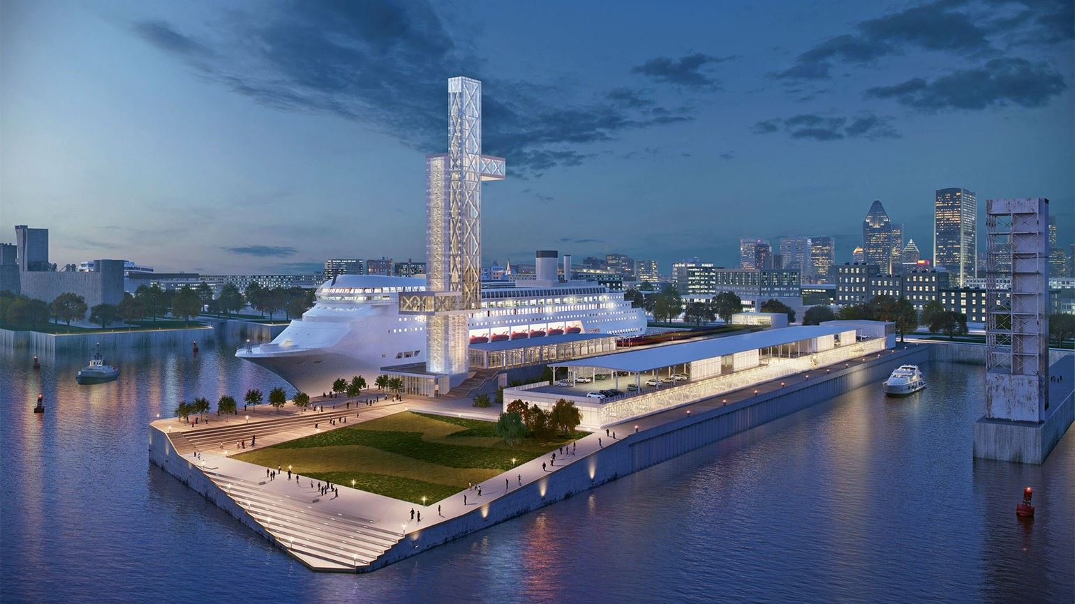 Montreal's new cruise terminal