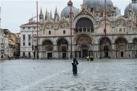 Second-Worst Flood Ever Recorded in Venice Has City Reeling