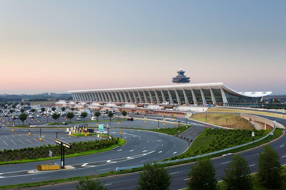Shortest airport wait times washington dulles