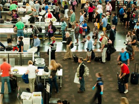 TSA Expects Record Crowds and Long Lines for Thanksgiving Travelers