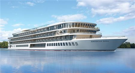 American Cruise Lines Reveals Name of New River Ship